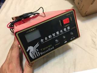 🚚 神馬 Horse God 汽車機車12V 24V 電瓶充電器
