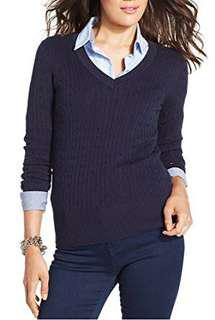 Tommy Hilfiger V-Neck Knit (RRP $139