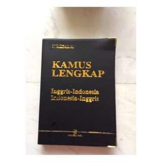 Kamus Lengkap Indonesia English