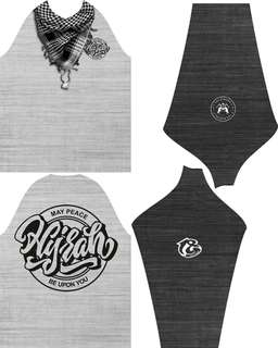 Jersey custom hijrah - palestine fullprint