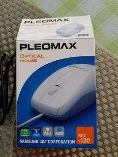 1pc Brand New PLEOMAX OPTICAL MOUSE For Sale