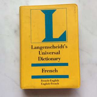 Langenscheidt's French English Dictionary Mini