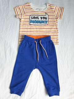 Baby's Apparel T-shirt & Jogger