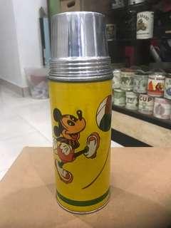 Vintage Mickey Mouse Flask.. NOS.. HARI RAYA SALES