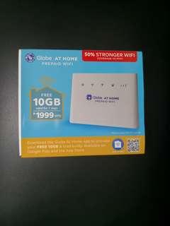BRAND NEW! Globe Prepaid Wifi!