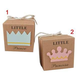 50x Babyshower candy box