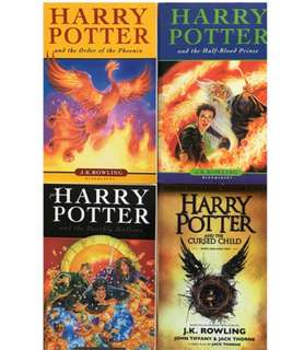 🚚 Harry Potter 8 books complete set