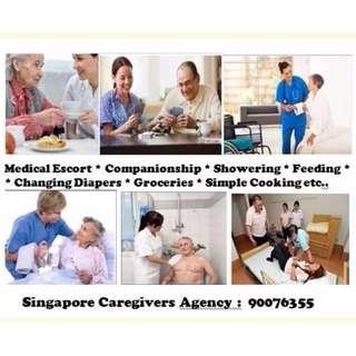Bumble Bee provides Singaporean 24/7 Private Nurse & Caregiver Services