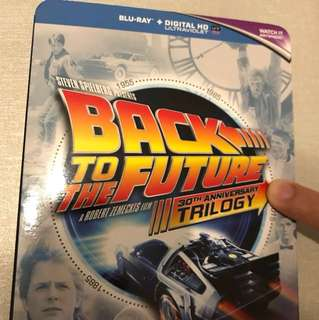 (BEST VERSION) Back to the Future TRILOGY 30th Anniversary edition  Blu-ray