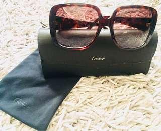 Cartier Vintage Double C decor Sunglasses
