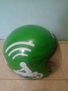 Helm gojek (bekas)