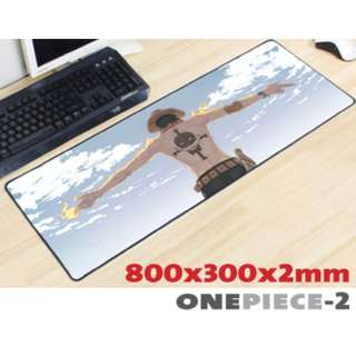 ONE PIECE #2 8030 Extra Large Mousepad Anti-Slip Gaming Office Desktop Coffee Dining Tabletop Decorative Mat