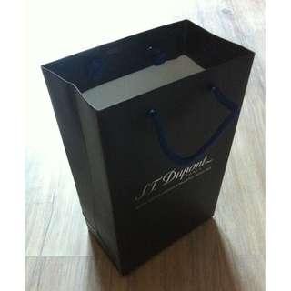 (半價) S.T. DUPONT Paper Shopping Gift Bag 紙袋 禮物袋 (Half Price)