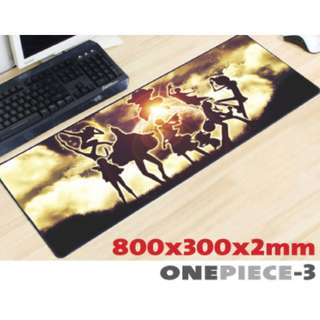ONE PIECE #3 8030 Extra Large Mousepad Anti-Slip Gaming Office Desktop Coffee Dining Tabletop Decorative Mat