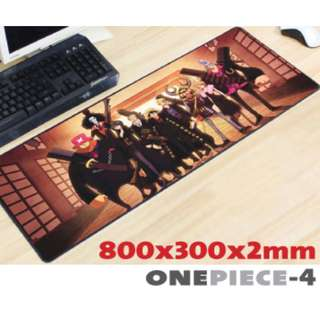 ONE PIECE #4 8030 Extra Large Mousepad Anti-Slip Gaming Office Desktop Coffee Dining Tabletop Decorative Mat