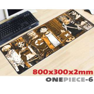 ONE PIECE #6 8030 Extra Large Mousepad Anti-Slip Gaming Office Desktop Coffee Dining Tabletop Decorative Mat