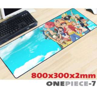ONE PIECE #7 8030 Extra Large Mousepad Anti-Slip Gaming Office Desktop Coffee Dining Tabletop Decorative Mat