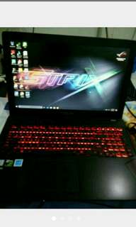 Edisi jual laptop asus REPUBLIK OF GAMES (ROG)