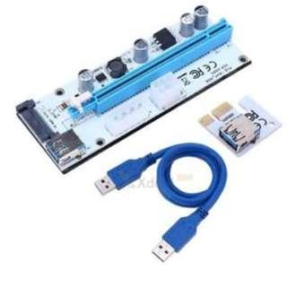 LNIB PCIe x16 to x1 Riser - Ver. 008S
