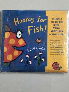 Hooray for Fish book + dvd + activity pack