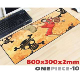 ONE PIECE #10 8030 Extra Large Mousepad Anti-Slip Gaming Office Desktop Coffee Dining Tabletop Decorative Mat