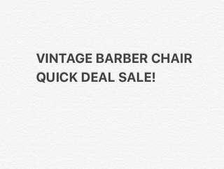 Takara Vintage Barber Chair