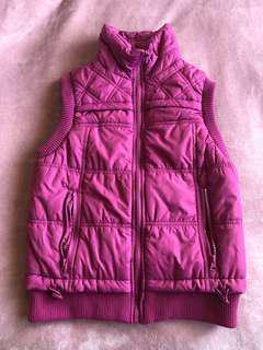 Pink Puffer Jacket/Vest