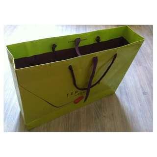 (半價) TED BAKER LONDON Paper Shopping Gift Bag 紙袋 禮物袋 (Half Price)