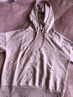 Ripped hoodie