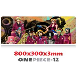 ONE PIECE #12 8030 Extra Large Mousepad Anti-Slip Gaming Office Desktop Coffee Dining Tabletop Decorative Mat