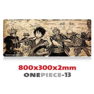 ONE PIECE #13 8030 Extra Large Mousepad Anti-Slip Gaming Office Desktop Coffee Dining Tabletop Decorative Mat