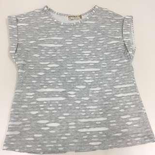 Blouse gray