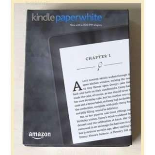 @Kindle PaperWhite E-reader 2017 WHITE/Black