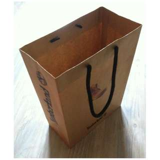 (半價) TIMBERLAND Paper Shopping Gift Bag 紙袋 禮物袋 (Half Price)