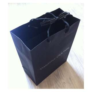 (半價) TIMOTHY OULTON Paper Shopping Gift Bag 紙袋 禮物袋 (Half Price)