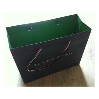 (半價) TOMMY HILFIGER Paper Shopping Gift Bag 紙袋 禮物袋 (Half Price)
