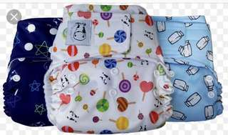 Moo moo kow cloth diaper with insert