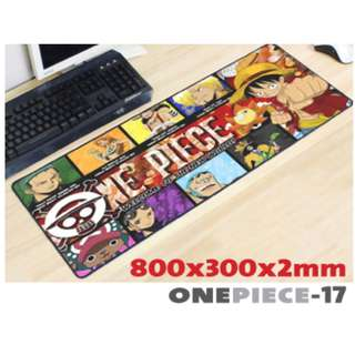 ONE PIECE #17 8030 Extra Large Mousepad Anti-Slip Gaming Office Desktop Coffee Dining Tabletop Decorative Mat