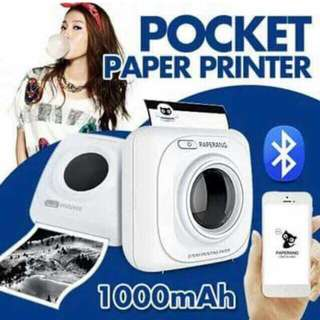 Pocket paper printer