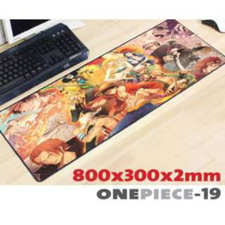 ONE PIECE #19 8030 Extra Large Mousepad Anti-Slip Gaming Office Desktop Coffee Dining Tabletop Decorative Mat
