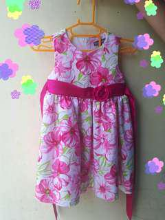 Floral Dress (up to 2 Yrs Old)