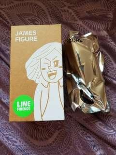 全新未拆袋 James Figure