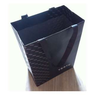(半價) VERTU Paper Shopping Gift Bag 紙袋 禮物袋 (Half Price)