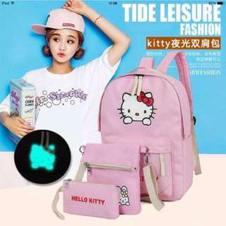 hello kitty 3in1 backpack