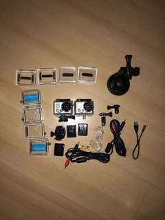 GoPro Hero and Hero2 bundle with accessories!