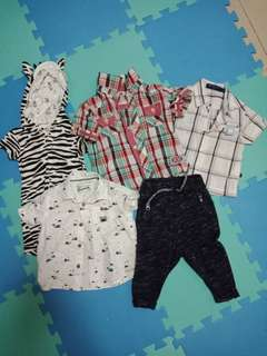 TAKE ALL BABY BOY PRELOVED CLOTHES
