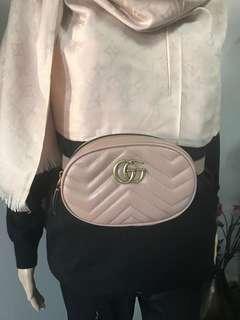 Gucci nude belt bag
