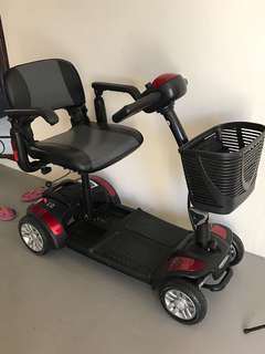 4 wheeler electric scooter