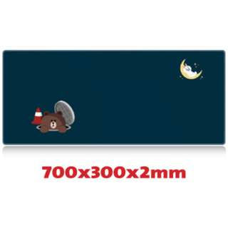 LINE #13 7030 Extra Large Mousepad Anti-Slip Gaming Office Desktop Coffee Dining Tabletop Decorative Mat