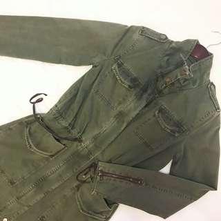 Zara Military Parka Jacket